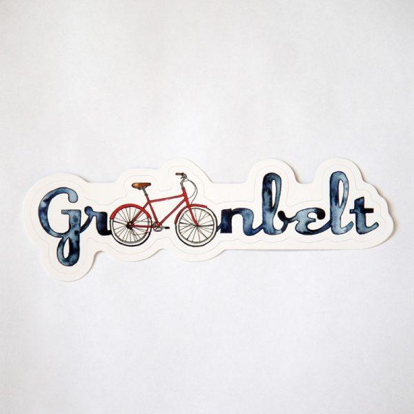 Bike Design Sticker