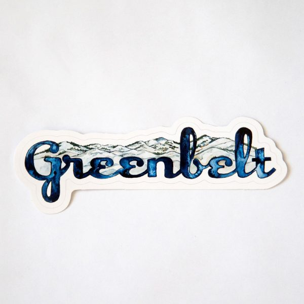 Greenbelt Mountain Sticker