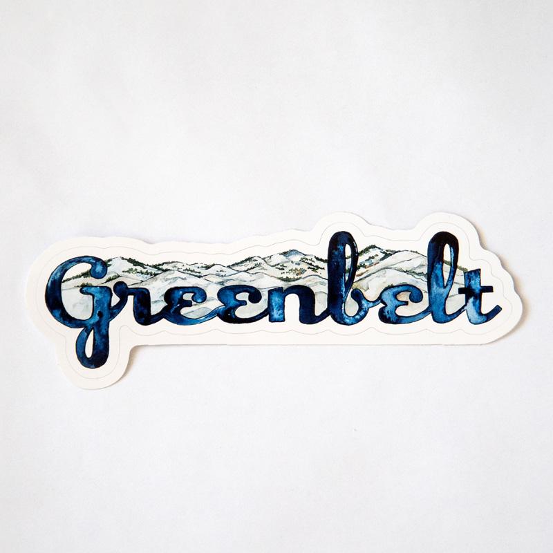 Greenbelt Mountain Sticker