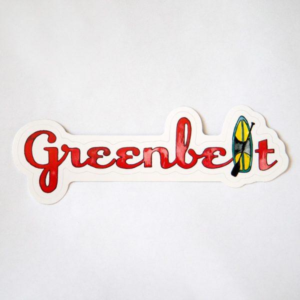 Paddleboard Design Sticker