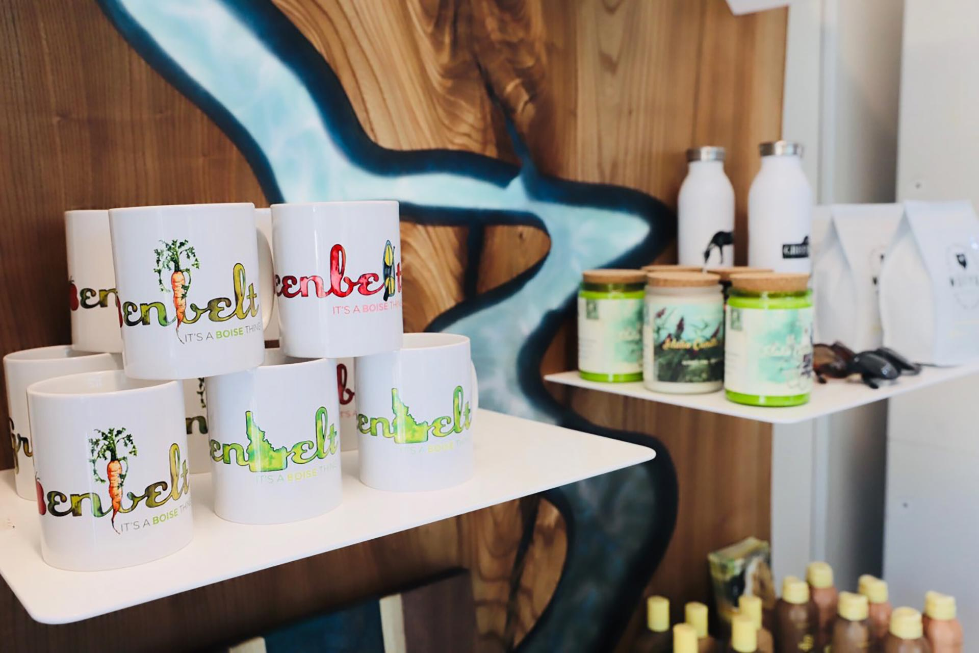 Greenbelt Mugs at Greenbelt Market