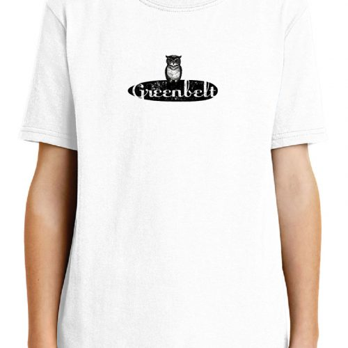 Owl White Kids Cotton T-Shirt